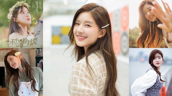 ส่องลุคน่ารักๆ ของ จ้าวลู่ซือ นางเอกจีนสุดฮอต ยิ้มสดใส น่ารักมากๆ
