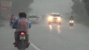 อุตุฯ เตือนทั่วไทยระวังพายุฝน อากาศแปรปรวน