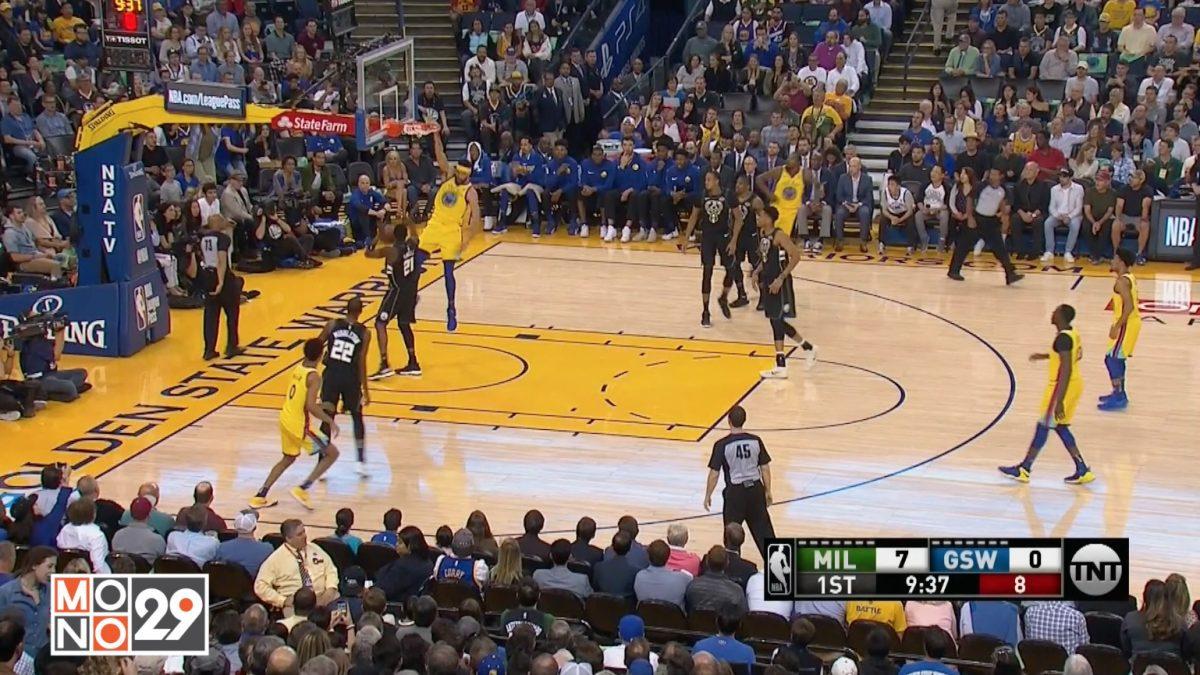 Highlight Milwaukee Bucks VS Golden State Warriors