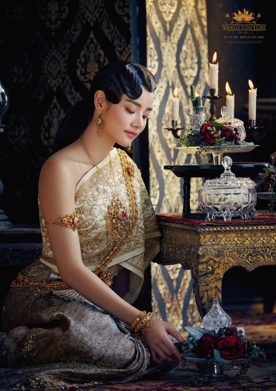 ชุดแต่งงานไทยศิวาลัย