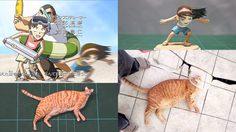 ไอเดียดีฝีมือเจ๋ง นักทำโมเดลสร้างหุ่นจากภาพแปลกประหลาดออกมาได้ฮาลั่น