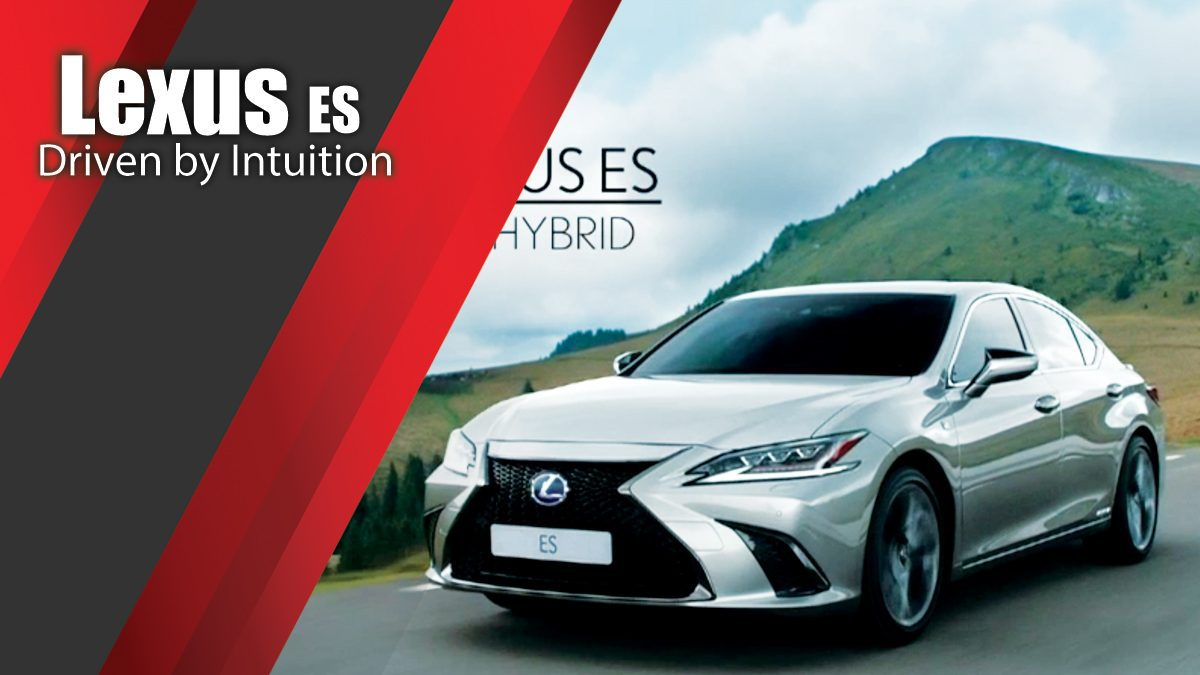 Lexus ES Driven by Intuition