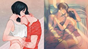 โมเมนต์สวีท ภาพการ์ตูนจากเรื่องจริงของ คนมีคู่ เมื่อตกอยู่ในห้วงภวังค์แห่งรัก