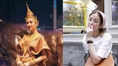 สวยไปอีกแบบ เมื่อสาวหมวยต้าเหนิง นุ่งชุดไทยดุจนางในวรรณคดี