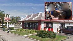 สาวหัวร้อนบุกเข้าไปทำร้ายผู้จัดการร้าน McDonald's เพียงแค่เรื่อง….ซอสมะเขือเทศ!!