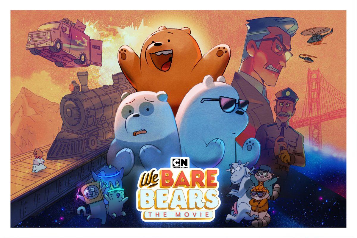 """ครั้งแรกกับ """"We Bare Bears The Movie"""" ในรูปแบบภาพยนตร์ พบการผจญภัยสุดแสนน่ารักของสามหมีจอมป่วน พร้อมกัน 12 กันยายนนี้"""