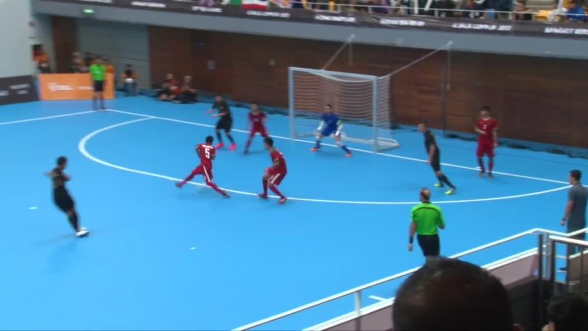 ไฮไลท์ฟุตซอลชายทีมชาติ ซีเกมส์ 2017 ระหว่าง ไทย 2 - 4 อินโดนีเซีย
