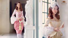 ชมความงาม ชุดไทยประยุกต์ ร.5 ย้อนอดีตสตรีชาวยุโรป เข้ามาสยามเป็นครั้งแรก