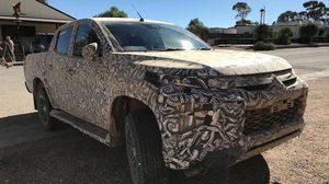 Mitsubishi Triton 2018 รุ่นปรับโฉม facelift โผล่ spy test ที่ออสเตรเลีย