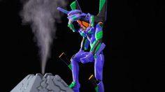 Evangelion พวยพุ่งแสงสีม่วงไปกับเครื่องทำความชื้น อาคาร NERV