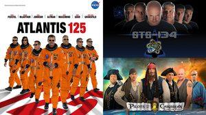 โปรเตอร์สุดครีเอตของแต่ละทีม ที่ออกแบบโดยนักบินอวกาศจาก NASA