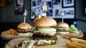 """ยกมือขวาคว้าเบอร์เกอร์กับร้าน """"Rock Burger"""" เบอร์เกอร์ร็อคสตาร์ไส้ทะลัก"""