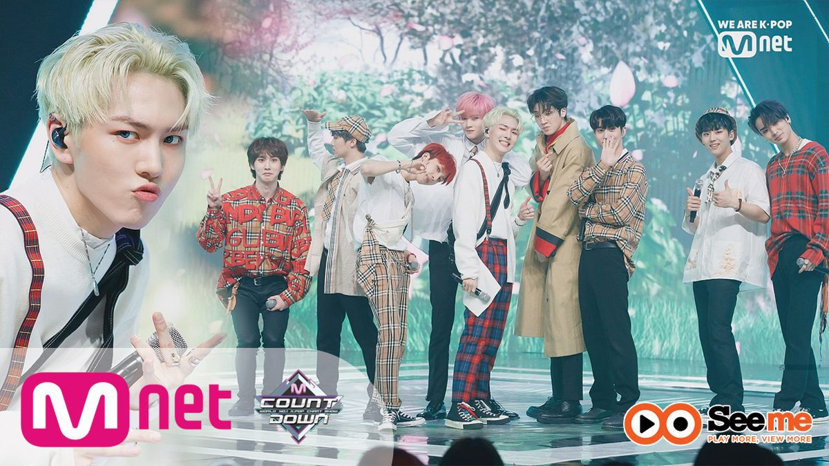 [PENTAGON - Spring Snow] KPOP TV Show | M COUNTDOWN 190418 EP.615