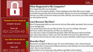 รมว. ดิจิทัลฯ เตือนระวัง WannaCry หลังระบาดสร้างความเสียหายไปทั่วโลก