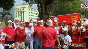 ซานต้าบุกเรือข้ามฟาก! ฉลองจบการศึกษาโรงเรียนซานต้า?