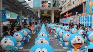 100 Doraemon ผู้ให้ความหวังของชาวญี่ปุ่นหลังเหตุการ์สึนามิ