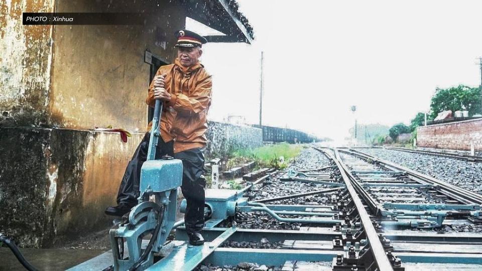 'นักสับรางรถไฟ' อาชีพที่ยังหลงเหลือ ในยุคที่เทคโนโลยีพัฒนาก้าวไกล