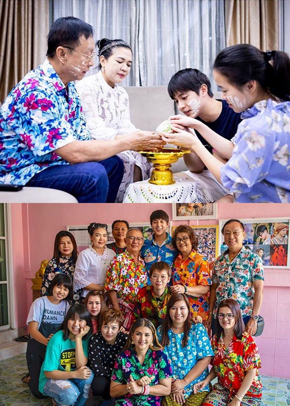 เจมส์ จิรายุ อยู่กับครอบครัว