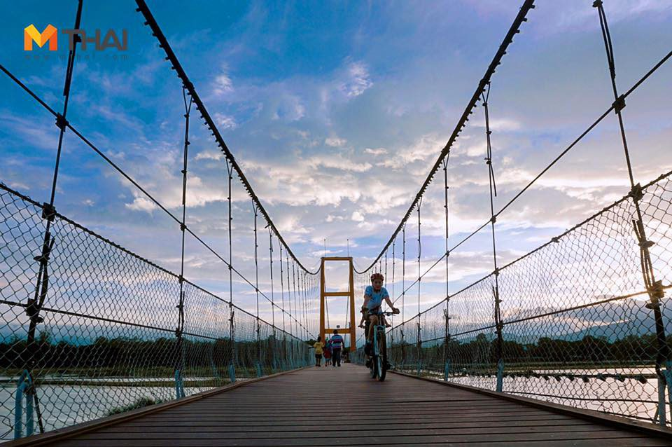 สะพานสมโภชกรุงรัตนโกสินทร์ 200 ปี (สะพานแขวน) อำเภอเมือง จังหวัดตาก