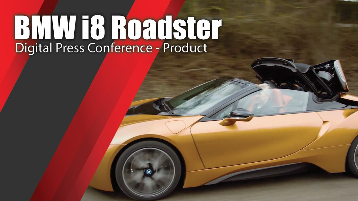 BMW i8 Roadster Digital Press Conference - Product