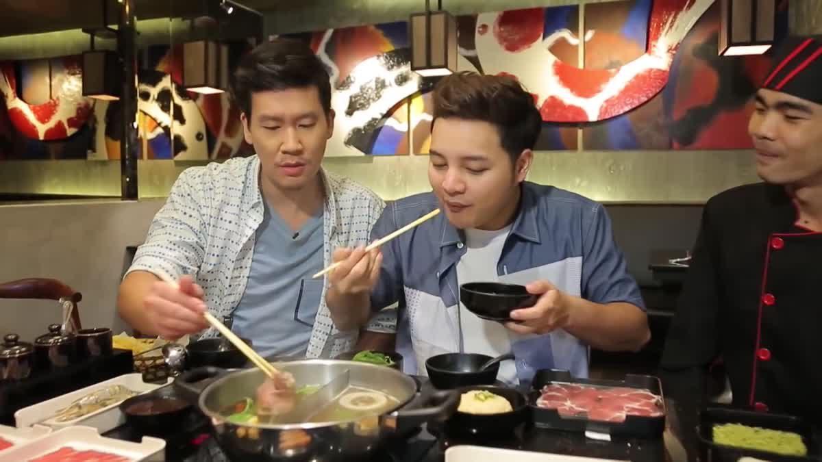 At Night Variety - ร้าน Seii Shabu Sushi & Dr.Milk (27 พ.ย.59)