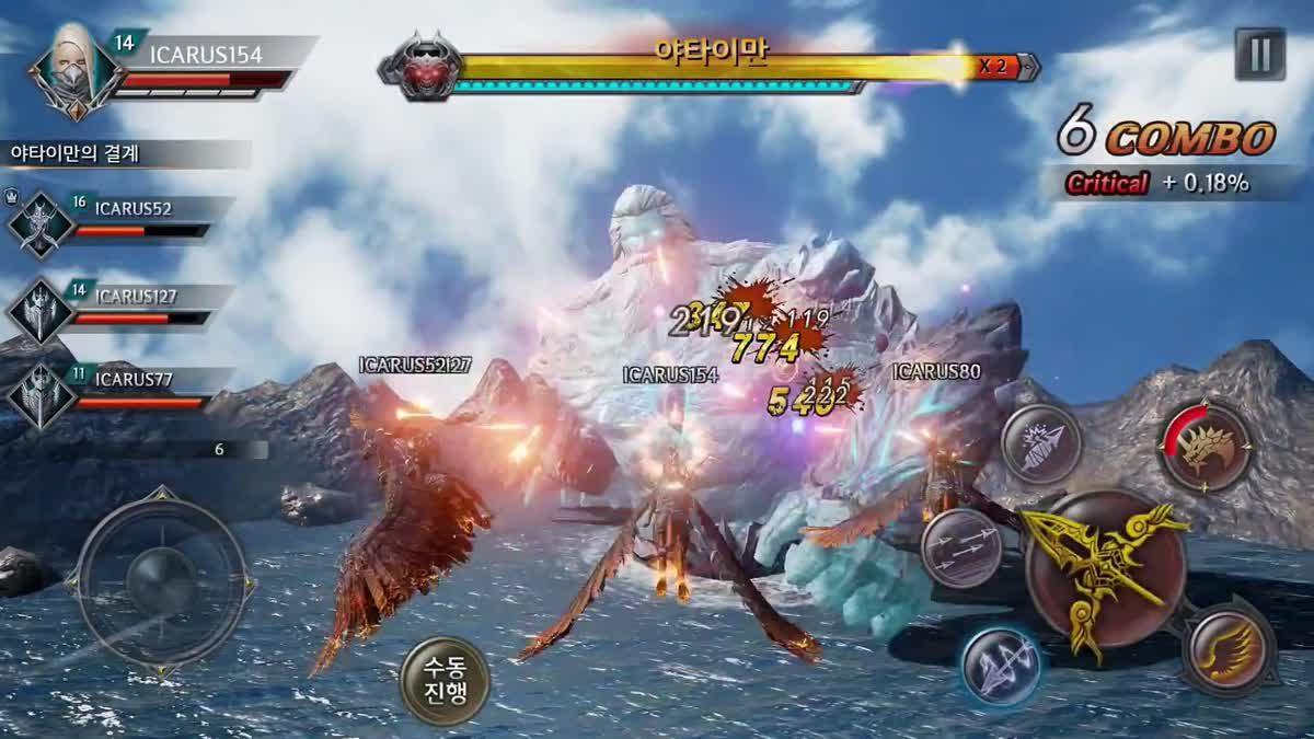 [ตัวอย่างเกม] Trailer เปิดตัว Icarus Mobile