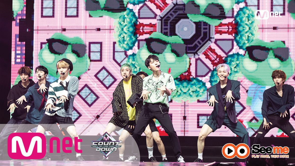펜타곤(PENTAGON) - INTRO PERF. + 청개구리(Naughty boy)|KCON 2018 THAILAND × M COUNTDOWN