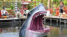 ฉลามบุกโตเกียว! บ่อตกปลา 'Musahinoen' ที่น่าสะพรึงกลัวที่สุด