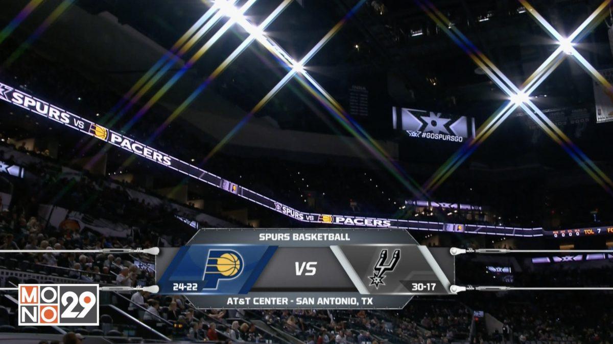 Highlight Indiana Pacers VS San Antonio Spurs
