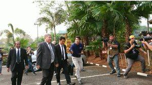 'เปรมชัย' เดินทางถึงศาลทองผาภูมิ ฟังคำพิพากษาตัดสินคดีเสือดำ