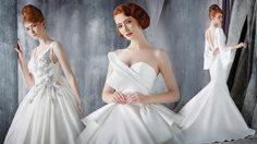 ชุดแต่งงาน 2019 สไตล์เจ้าสาวมินิมอล แรงบันดาลใจจากศิลปะพับกระดาษญี่ปุ่น