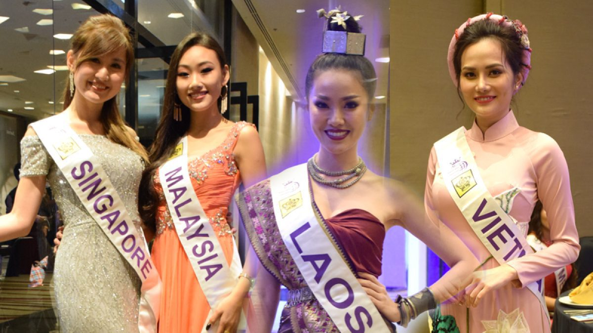 ชุดราตรี Miss Tourism Queen International 2018 ลุคนี้กี่คะแนน?