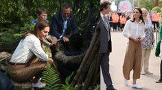 เจ้าหญิงก็ใส่ของถูกได้! เคท มิดเดิลตัน ใส่ รองเท้าผ้าใบ สุดชิคลุยงานจัดสวน
