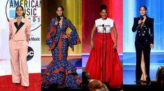 โดดเด่นบนเวที American Music Awards 2018 ด้วยชุดที่ออกแบบโดยดีไซเนอร์ผิวดำ!!
