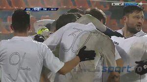 แก้ขัดไปก่อน! ทีมโรมาเนียจำต้องใส่เสื้อขาวเอาปากกาเขียนเบอร์ หลังสีชนชุดแข่งเจ้าถิ่น