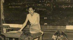 ภาพหาชมยาก ครั้งหนึ่งสมเด็จพระพี่นางฯ ทรงสอนหนังสือนิสิต
