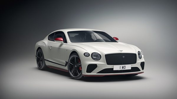 The Continental GT V8 AAS Motorsport Edition