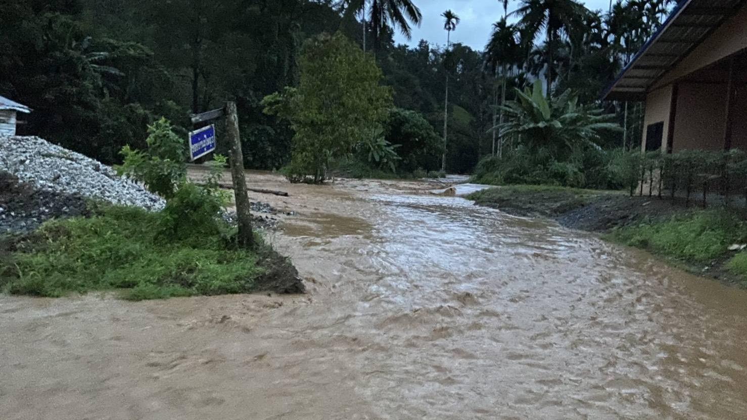อัปเดต #สถานการณ์น้ำท่วมภาคใต้