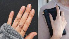 ไม่ต้องแหวนเพชรเม็ดโต! ก็สวย เก๋ ได้ด้วย แหวน Minimal Style