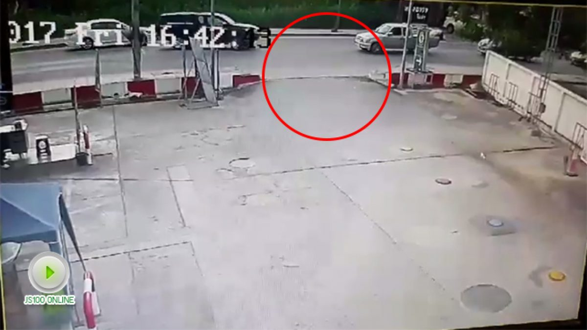 คลิปอุบัติเหตุจากจุดอับสายตา (01-12-60)