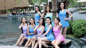 จับตารอบชุดว่ายน้ำ 5 สาวงามตัวเต็ง ลุ้นมงนางสาวไทย 2019