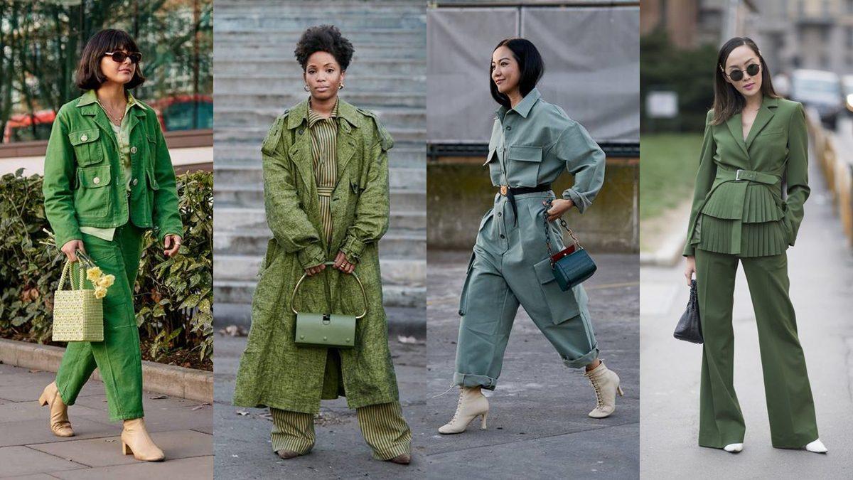 แต่งตาม Pantone 2020 สีเขียวธรรมชาติ มาแน่ เตรียมเคลียร์ตู้เสื้อผ้ารอไว้เลย!