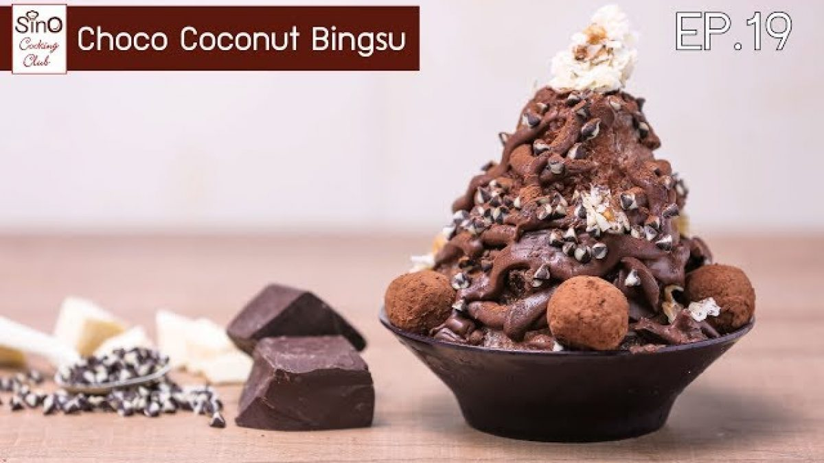 Choco Coconut Bignsu | EP.19 Sino Cooking Club