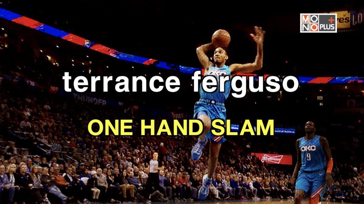 terrance ferguson ONE HAND SLAM