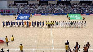 """ฟุตซอล ทีมชาติไทย กระหึ่ม! บุกอัดญี่ปุ่น 2-1 """" จิรวัฒน์-ศุภวุฒิ """" ซัดเฮแดนปลาดิบ"""