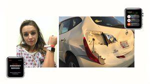 Apple Watch ช่วยชีวิต แม่และลูกน้อย จากอุบัติเหตุรถยนต์ด้วยฟีเจอร์ SOS !!
