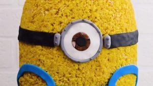 สอนทำเค้กมินเนี่ยน ตัวเหลืองจอมแสบสุดน่ารัก