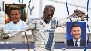 LA Galaxy เปิดตัวรูปปั้น David Beckham แต่โดนชาวเน็ตล้อว่านี่มัน Gordon Ramsay ชัดๆ