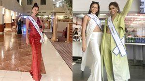 """""""ควีนนี่ เบญจรัตน์"""" เข้ากองฯ Miss Supranational 2021 ด้วยลุคสุดปัง มีรูมเมทเป็นมิสอินเดีย"""