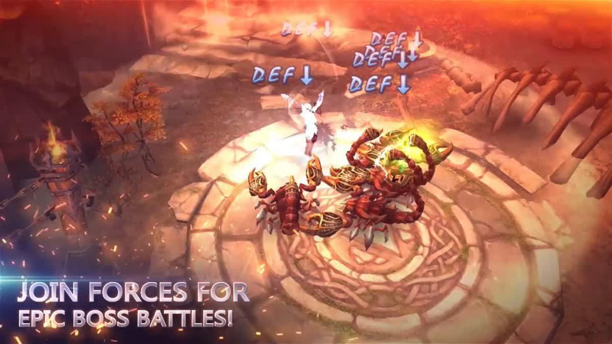 Legend of Darkness เกมมือถือแนว Action RPG ใหม่ล่าสุดจาก Game Dreamer